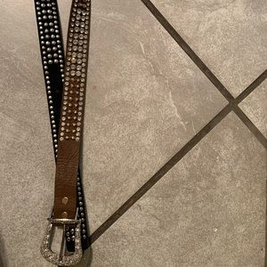 Accessories - Jeweled cowgirl western belt
